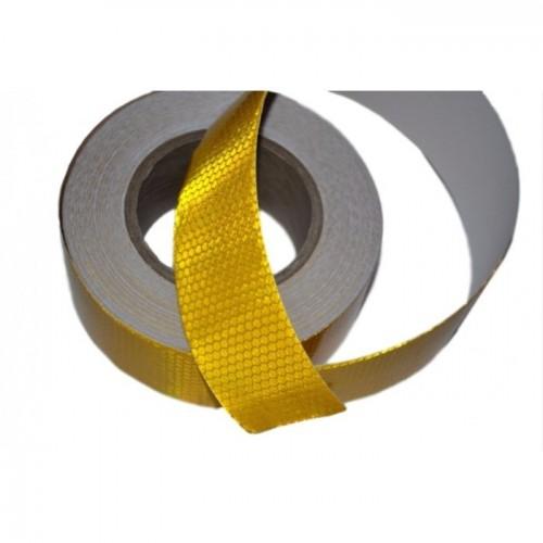 ΤΑΙΝΙΑ ΑΝΤΑΝΑΚΛΑΣΤΙΚΗ ΑΥΤΟΚΟΛΛΗΤΗ 48mm κιτρινη