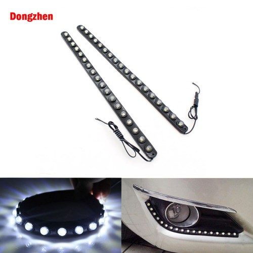 Dongzhen 2pcs Waterproof LED Strip 18 LED 36CM Daytime