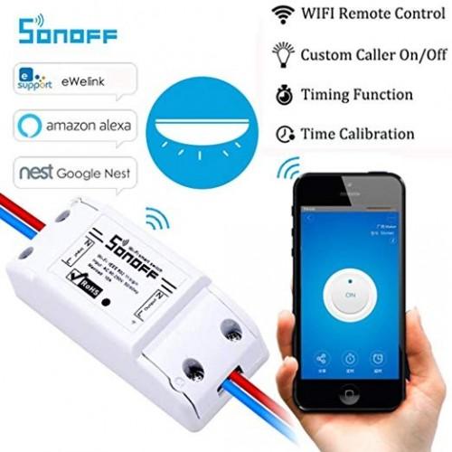 Wifi Switch DIY Remote Wireless Smart Switch Domotica Wifi Light Switch