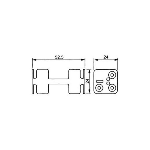 4 AΑΑ BATTERY HOLDER WITH CABLE BH0030A