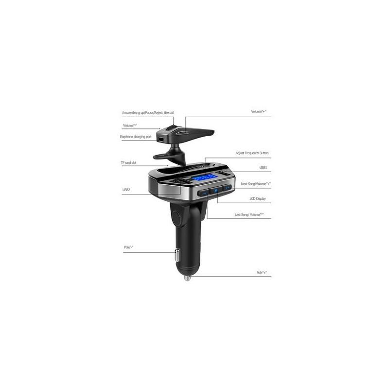 V6 Bluetooth Hands-Free Car Kit