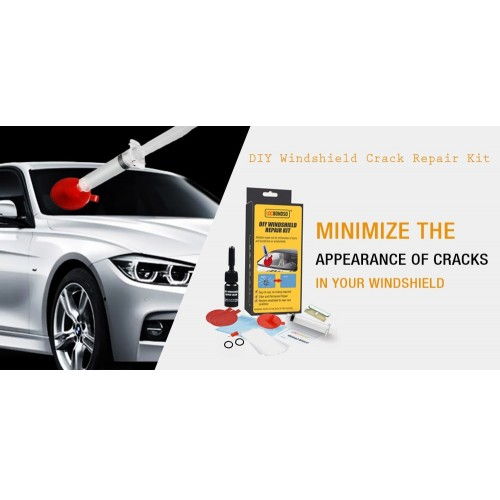 DIY Windshield Repair Kit Car Window Repair Polishing Windscreen Glass Chip Crack Restore Adhesive K