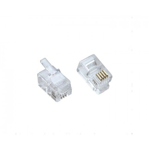 RJ9 Telecom Connector