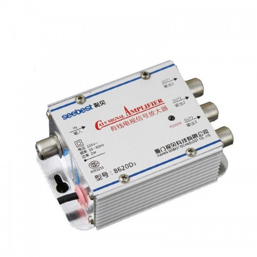 UHF/VHF/FM indoor antenna amplifier 1020MK4