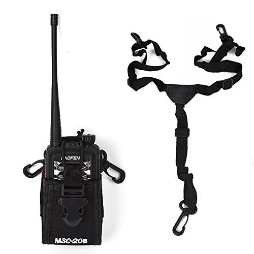 MSC-20B Ham Radio Tranceiver Case Holster For MOTORAL Baofeng UV-5R KENW00D