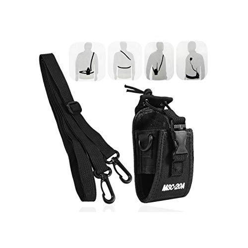 MSC-20A Walkie Talkie Case Holster for Yaesu Icom Motorola GP328+ Wouxun KG-UV8D CB Radio BAOFENG