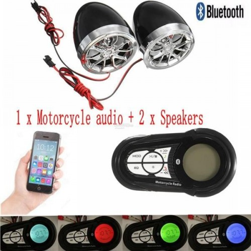 MOTORCYCLE AUDIO CAR PLAYER