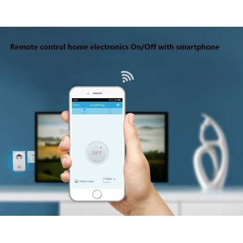 Wifi Smart Power Plug ΑΣΥΡΜΑΤΑ