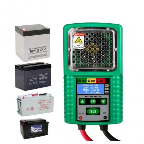 DUOYI DY226 Automotive Battery Tester 6V and 12V DC 4 Digits Display for UPS