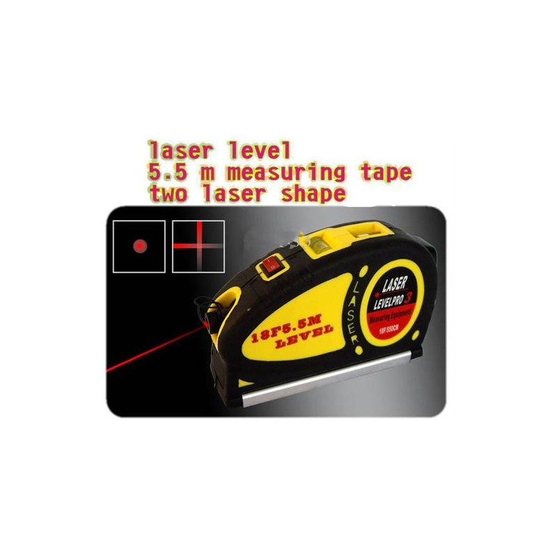 Mini Laser Level Projects Horizontal and Vertical Laser Light Beam (WW-LV05)