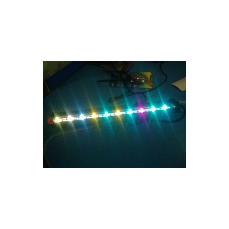 ΦΩΤΙΣΤΙΚΟ ΕΝΥΔΡΕΙΟΥ ΥΠΟΒΡΥΧΙΟ RGB + ΟΞΥΓΟΝΟΤΗΣ 55CM