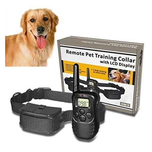Pet Dog Training Collar, LCD Rainproof Electric Shock Vibration