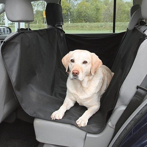 Travel Dog Car Seat Cover-Universal Black Oxford Waterproof Protector for Sedan, Truck and SUV PET SEAT COVER