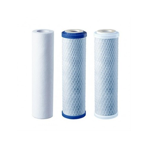 Details about Replacement filters for 3 Stage HMA Water filter system heavy metal filter 10""