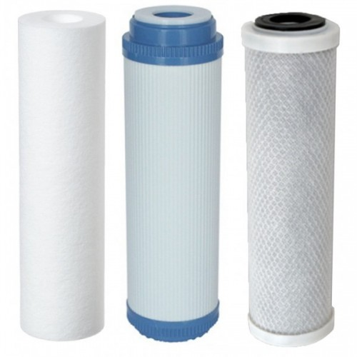 Details about Replacement filters for 3 Stage HMA Water filter system heavy metal filter 10\""