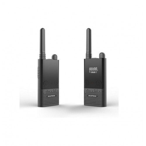 BAOFENG BF-T9 FRS Walkie Talkie UHF 400-470Mhz Two Way Radio USB Charge LCD Programmable by PC