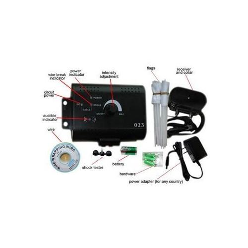 023 Electronic Pet Fencing System - Gun Metal EU Plug