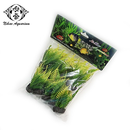 aquarartificial green plants water grass for aquarium fish tank 20030-7 B
