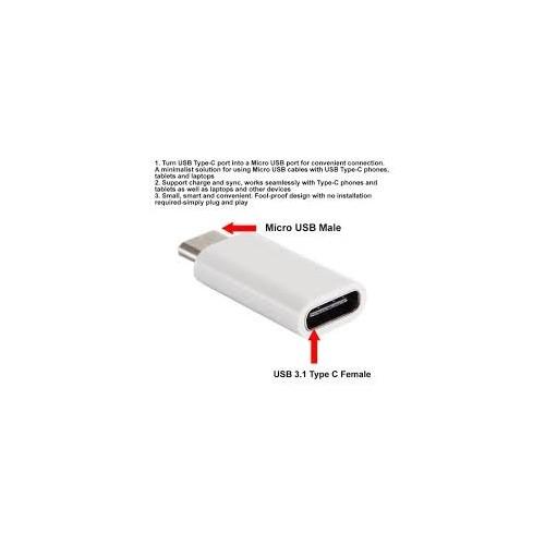 ΑΝΤΑΠΤΟΡ USB C ΣΕ MICRO USB