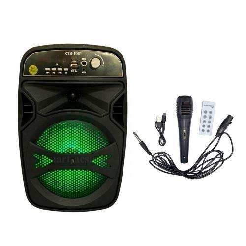 Karaoke Speaker Portable free Mic KTS-1061