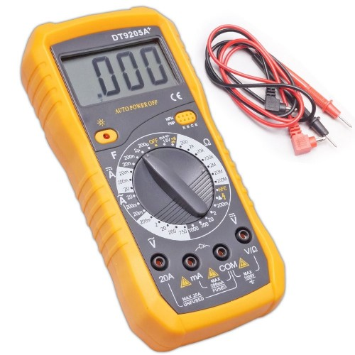 Full protection of high precision digital v9205N meter automatic light machine