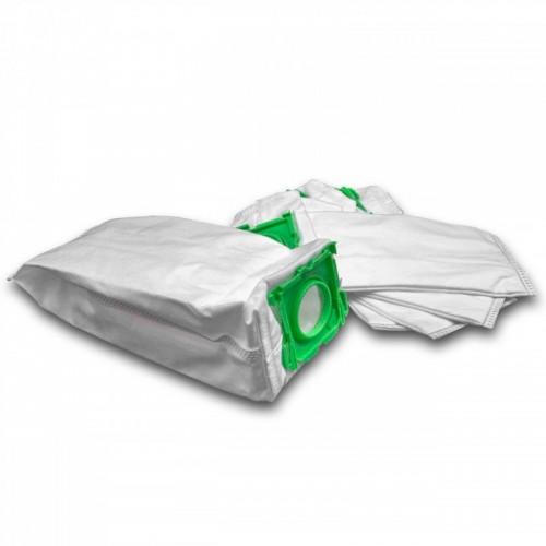 5 dust bags microfleece for vacuum cleaner Sebo Airbelt K1 Onyx