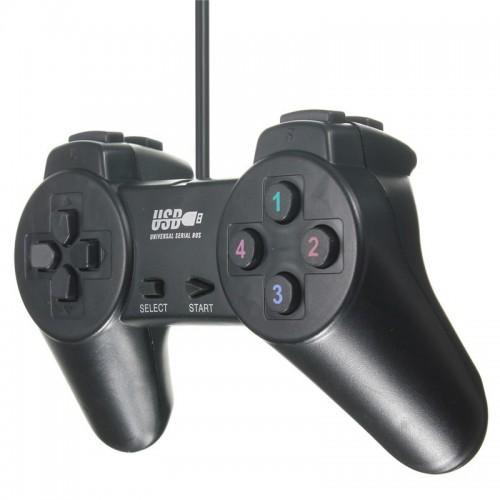 ΕΝΣΥΡΜΑΤΟ ΧΕΙΡΙΣΤΗΡΙΟ USB Dualshock PC & PS3