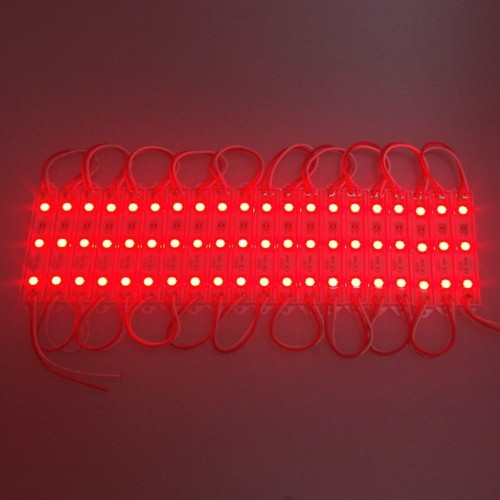 5050 3LED Module Lighting DC12V Waterproof led Modules White / Warm White / Red / Green