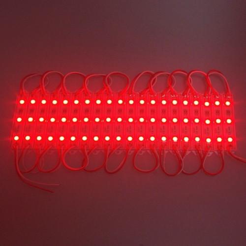 MODULE ΜΕ 3 ΙΣΧΥΡΑ LED 12Vdc 0.9W 120° IP68 ΚΟΚΚΙΝΟ TEMAXIO
