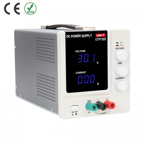 Linear DC Power Supply 0-30V 0-5A, 1mA Display