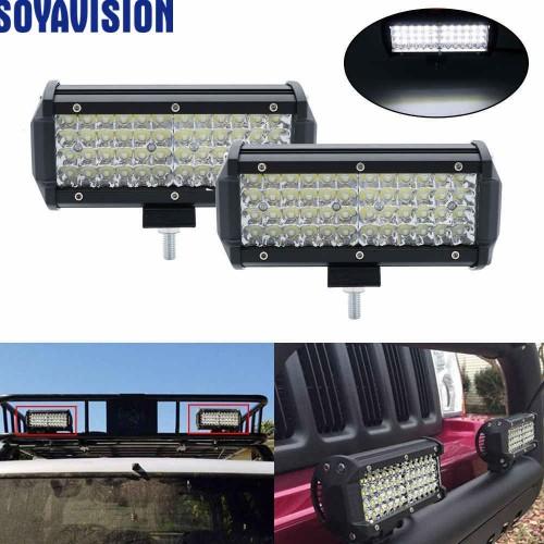 144W LED Light Bar Off Road Lights LED Work Light Spot Driving Fog Lights Waterproof LED Bar for Truck Jeep Boat ATV UTV