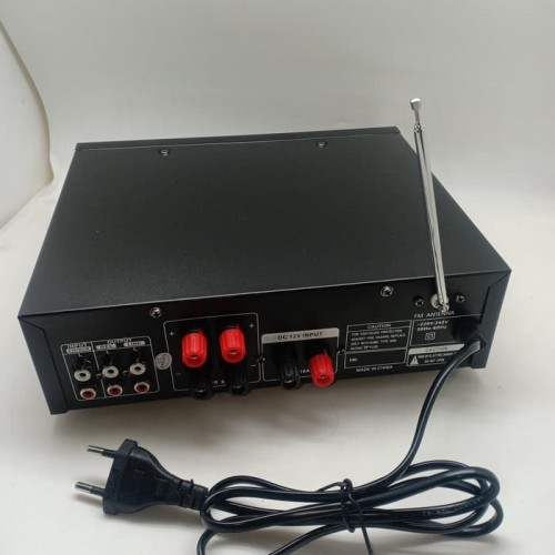 Power Amplifier Fleco BT-889 - Amplifier Bluetooth Karaoke - HIFI USB