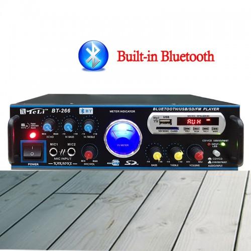 ΡΑΔΙΟ ΕΝΙΣΧΥΤΗΣ ΜΕ BLUETOOTH + USB - MP3 + ΤΗΛΕΧΕΙΡΙΣΤΗΡΙΟ