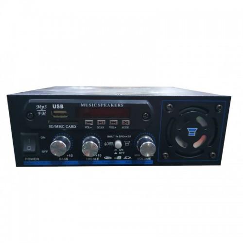 ΡΑΔΙΟ ΕΝΙΣΧΥΤΗΣ HI-FI + USB - MP3 + bluetooth 2x40 Watt KARAOKE