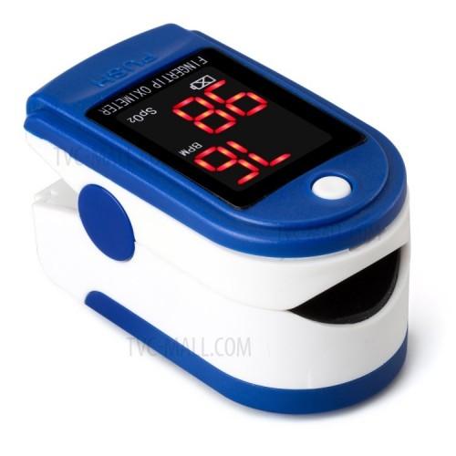 JZIKI JZK-302 Portable Fingertip Pulse Oximeter with LED Display