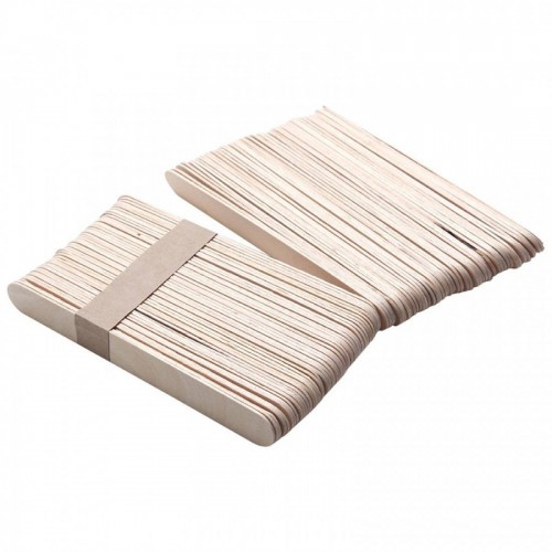 Hot Approx 20PCS Wooden Bikinis Body Face Hair Removal Stick Wax Waxing Disposable Sticks Applicator