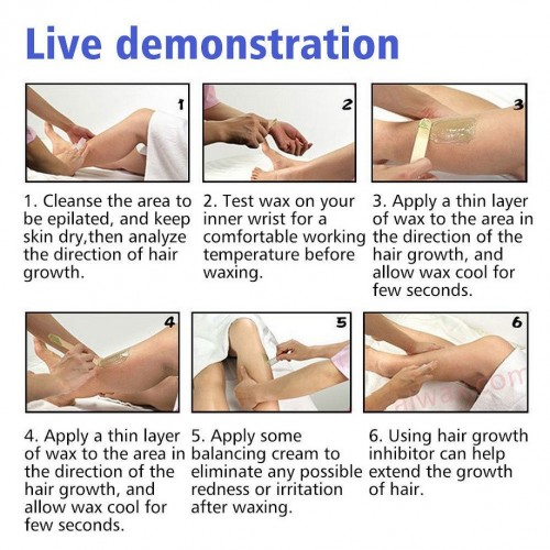 Hair Removal Remove Epilator Paper Waxing Depilatory Strip Paper Roll Waxing Health Beauty Smooth Legs for depilation