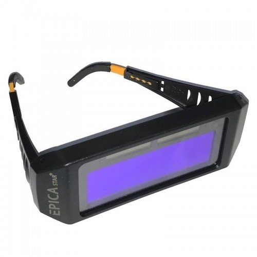 Solar automatic dimming glasses