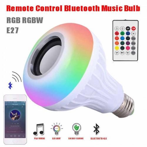 Wireless Bluetooth 3.0 LED Music Speaker Bulb