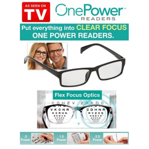 One Power Readers Spectacle For +0.5 To +2.5