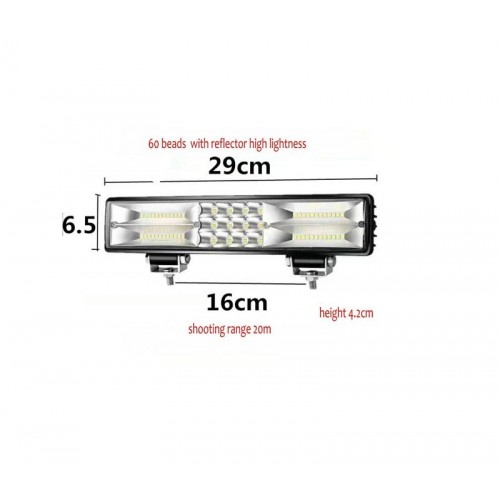 LED Projector vehicles – 180W – Bar