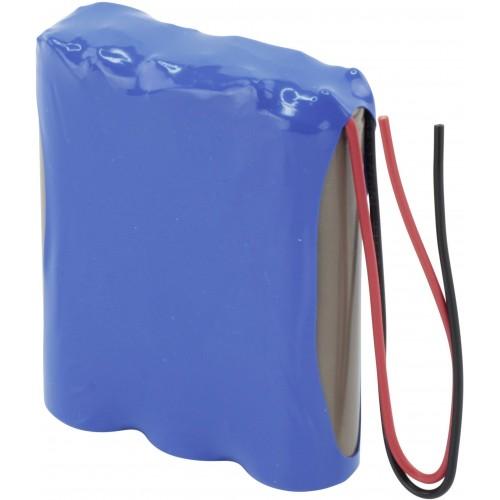 NiCd Battery Pack: 3.6V 1000mAH (3S/S, AA)