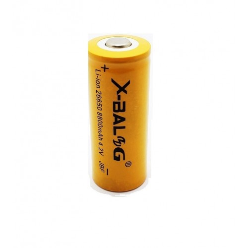 26650 Li-Ion battery, commonly used in LED torches.
