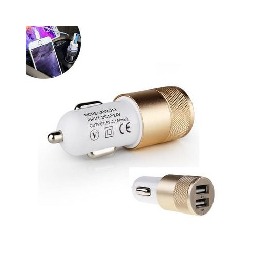 USB Car Charger 5V 2.1A For Iphone X 8 7 Plus Universal mobile phone USB Adapter