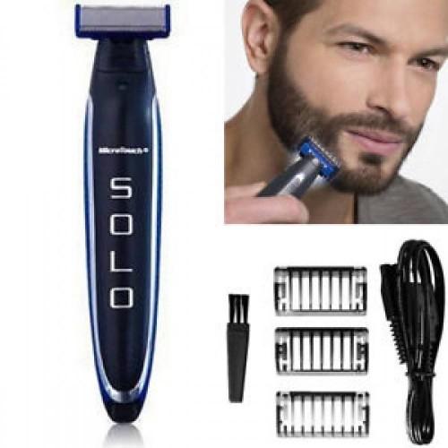 Boxili SOLO Men Electric Razor Facial Hair Remover for Trimming Edging Shaving