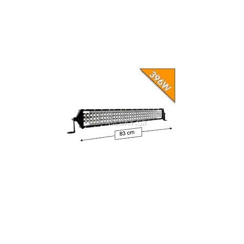 SLIM ΑΔΙΑΒΡΟΧΟ LED LIGHT BAR 396W