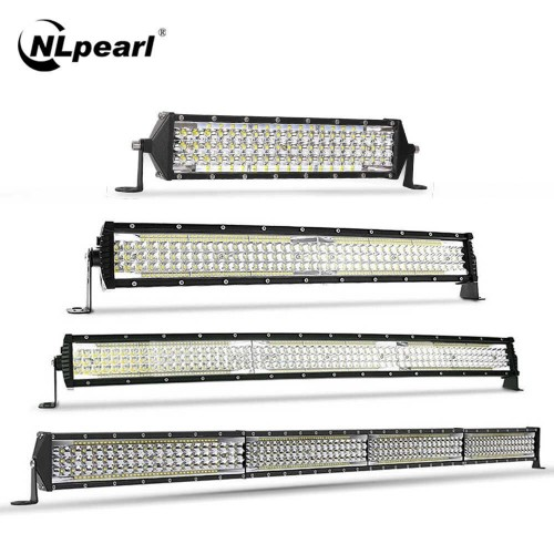 SLIM ΑΔΙΑΒΡΟΧΟ LED LIGHT BAR 264W