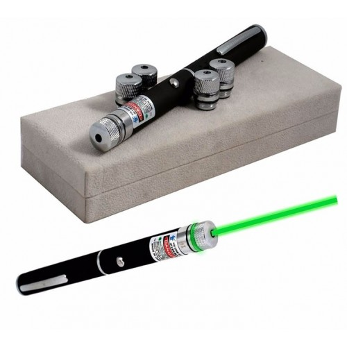 Green Laser Pointer 532nm Lazer Pen High Power Visible Beam Light