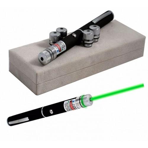 Green Laser Pointer 532nm Lazer Pen High Power Visible Beam Light