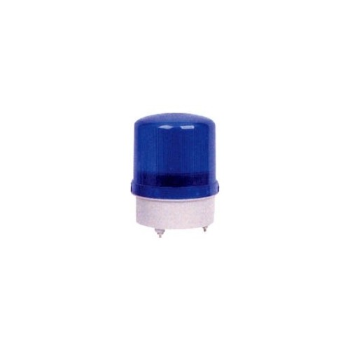 REVOLVING flash LIGHT BLUE